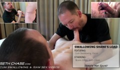 Swallowing Shane's Load